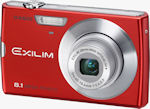 Casio's EXILIM Zoom EX-Z150 digital camera. Courtesy of Casio, with modifications by Michael R. Tomkins.