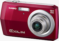 Casio's EXILIM EX-Z16 digital camera. Photo provided by Casio America, Inc.