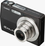 Casio's EXILIM EX-Z500 digital camera. Courtesy of Casio, with modifications by Michael R. Tomkins.