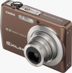 Casio's EXILIM EX-Z600 digital camera. Courtesy of Casio, with modifications by Michael R. Tomkins.