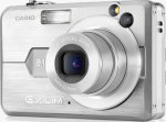 Casio's EXILIM EX-Z850 digital camera. Courtesy of Casio, with modifications by Michael R. Tomkins.