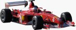 Ferrari's F2003GA Formula One car. Copyright © 2003, The Imaging Resource / Michael R. Tomkins. All rights reserved.