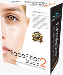Reallusion's FaceFilter Studio 2 packaging. Click to visit the FaceFilter Studio website!