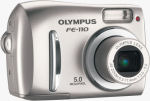 Olympus' FE-110 digital camera. Courtesy  of Olympus, with modifications by Michael R. Tomkins.