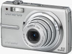 Olympus' FE-250 digital camera. Courtesy of Olympus, with modifications by Michael R. Tomkins.