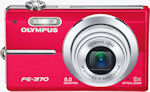 Olympus' FE-370 digital camera. Courtesy of Olympus, with modifications by Michael R. Tomkins.