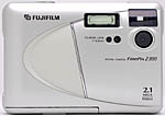Fuji's FinePix 2300 digital camera. Copyright (c) 2001, The Imaging Resource. All rights reserved.