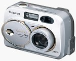 Fuji's FinePix 2650 digital camera. Courtesy of Fuji Photo Film USA Inc., with modifications by Michael R. Tomkins.