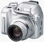 FujiFilm's FinePix 2800 Zoom digital camera. Courtesy of Fuji Photo Film USA Inc. with modifications by Michael R. Tomkins.