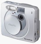 Fuji's FinePix 30i digital camera. Courtesy of Fuji Japan with modifications by Michael R. Tomkins.