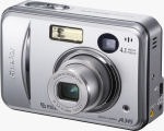 Fujifilm's FinePix A345 digital camera. Courtesy of Fujifilm, with modifications by Michael R. Tomkins.