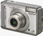 Fujifilm's FinePix A700 digital camera. Courtesy of Fujifilm, with modifications by Michael R. Tomkins.