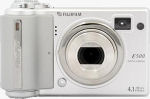 Fujifilm's FinePix E500 digital camera. Copyright © 2004, The Imaging Resource. All rights reserved.