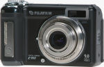 Fujifilm's FinePix E900 digital camera. Courtesy of Fujifilm, with modifications by Michael R. Tomkins.