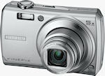 Fujifilm's FinePix F100fd digital camera. Courtesy of Fujifilm, with modifications by Michael R. Tomkins.