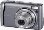 Fujifilm's FinePix F40fd digital camera. Courtesy of Fujifilm, with modifications by Michael R. Tomkins.