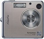 Fujifilm's FinePix F420 Zoom digital camera. Courtesy of Fujifilm Japan, with modifications by Michael R. Tomkins.