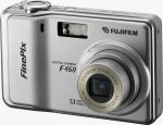 Fujifilm's FinePix F460 digital camera. Courtesy of Fujifilm, with modifications by Michael R. Tomkins.