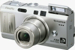 Fujifilm's FinePix F810 digital camera. Courtesy of Fujifilm, with modifications by Michael R. Tomkins.