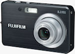 Fujifilm's FinePix J10 digital camera. Courtesy of Fujifilm, with modifications by Michael R. Tomkins.