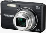 Fujifilm's FinePix J150w digital camera. Courtesy of Fujifilm, with modifications by Michael R. Tomkins.