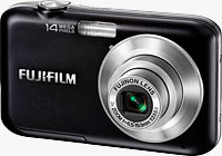 Fujifilm's FinePix JV200 digital camera. Photo provided by Fujifilm North America Corp.