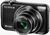 Fujifilm's FinePix JX350 digital camera. Photo provided by Fujifilm North America Corp.