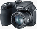 Fujifilm's FinePix S1000fd digital camera. Courtesy of Fujifilm, with modifications by Michael R. Tomkins.