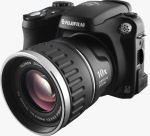 Fujifilm's FinePix S5200 digital camera. Courtesy of Fujifilm, with modifications by Michael R. Tomkins.