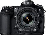 Fujifilm's FinePix S5 Pro digital SLR. Courtesy of Fujifilm, with modifications by Michael R. Tomkins.