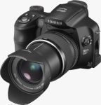 Fujifilm's FinePix S6000fd digital camera. Courtesy of Fujifilm, with modifications by Michael R. Tomkins.