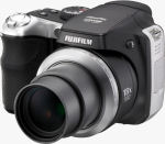 Fujifilm's FinePix S8000fd digital camera. Courtesy of Fujifilm, with modifications by Michael R. Tomkins.