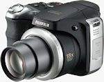 Fujifilm's FinePix S8100FD digital camera. Courtesy of Fujifilm, with modifications by Michael R. Tomkins.