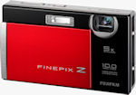 Fujifilm's FinePix Z200fd digital camera. Courtesy of Fujifilm, with modifications by Michael R. Tomkins.