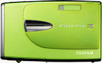 Fujifilm's FinePix Z20fd digital camera. Courtesy of Fujifilm, with modifications by Michael R. Tomkins.