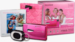 Fujifilm's FinePix Z20fd Breast Cancer Awareness bundle. Courtesy of Fujifilm, with modifications by Michael R. Tomkins.
