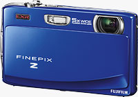 Fujifilm's FinePix Z900 EXR digital camera. Photo provided by Fujifilm UK Ltd.
