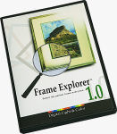 Frame Explorer's packaging. Courtesy of Digital Light and Color Inc. Click here to visit the Digital Light and Color website!