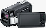 Samsung's F-Series digital camcorders. Photo provided by Samsung Electronics America Inc.