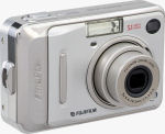 Fujifilm's FinePix A500 digital camera. Courtesy of Fujifilm, with modifications by Michael R. Tomkins.