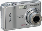 Fujifilm's FinePix F470 digital camera. Courtesy of Fujifilm, with modifications by Michael R. Tomkins.