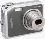 Fujifilm's FinePix V10 digital camera. Courtesy of Fujifilm, with modifications by Michael R. Tomkins.
