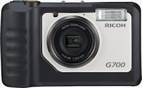 Ricoh's G700 digital camera. Photo provided by Ricoh Co. Ltd.