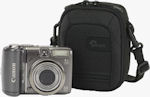 Lowepro's Geneva 30 camera pouch shown with Canon digital camera for scale. Photo provided by Lowepro USA.
