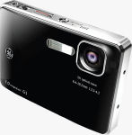 General Imaging's GE G1 digital camera. Courtesy of General Imaging, with modifications by Michael R. Tomkins.