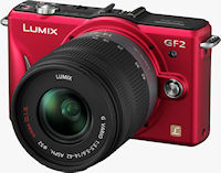 The Panasonic Lumix DMC-GF2 digital camera. Photo provided by Panasonic Consumer Electronics Co.
