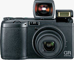 Ricoh's GR Digital. Courtesy of Ricoh, with modifications by Michael R. Tomkins.