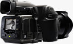 Hasselblad's H3D-31 digital SLR. Courtesy of Hasselblad, with modifications by Michael R. Tomkins.
