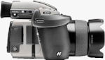Hasselblad H3D-II fifty megapixel DSLR. Courtesy of Hasselblad, with modifications by Michael R. Tomkins.