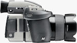 Hasselblad's H4D-60 medium format camera with lens attached. Photo provided by Hasselblad USA Inc.